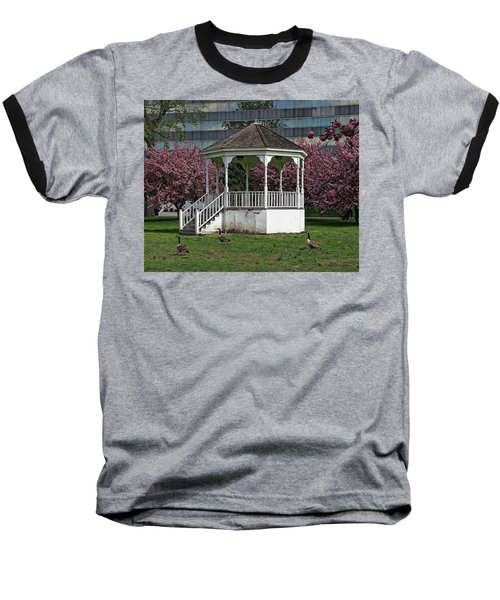 Gazebo In The Park Baseball T-Shirt