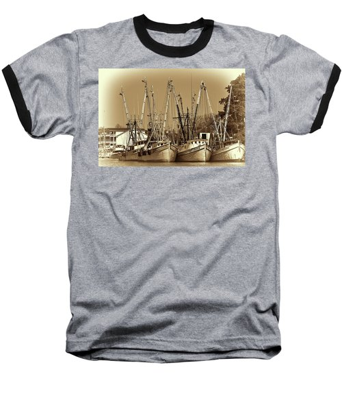 Georgetown Shrimpers Baseball T-Shirt by Bill Barber