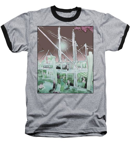 Ghost Ship Baseball T-Shirt