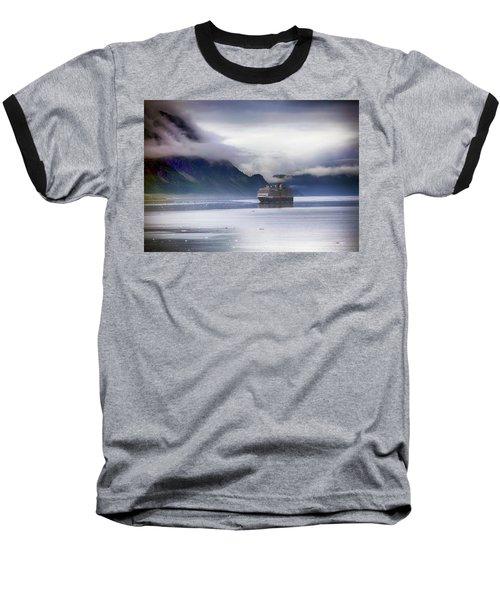 Glacier Bay Alaska Baseball T-Shirt