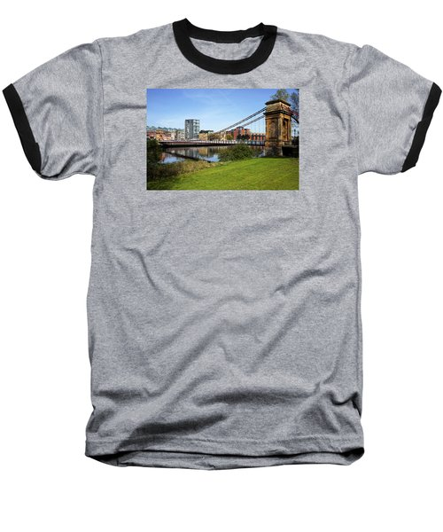 Baseball T-Shirt featuring the photograph Glasgow by Jeremy Lavender Photography