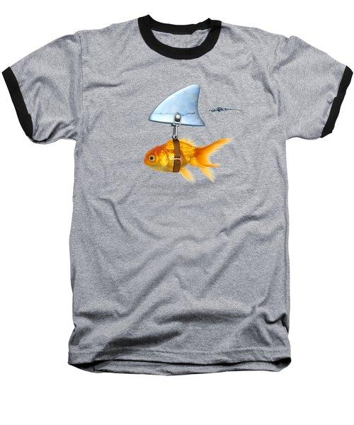 Gold Fish  Baseball T-Shirt by Mark Ashkenazi
