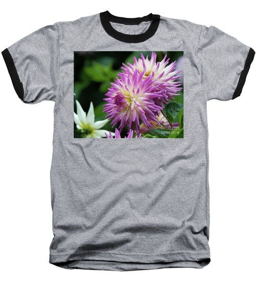 Golden Gate Park Dahlia Baseball T-Shirt