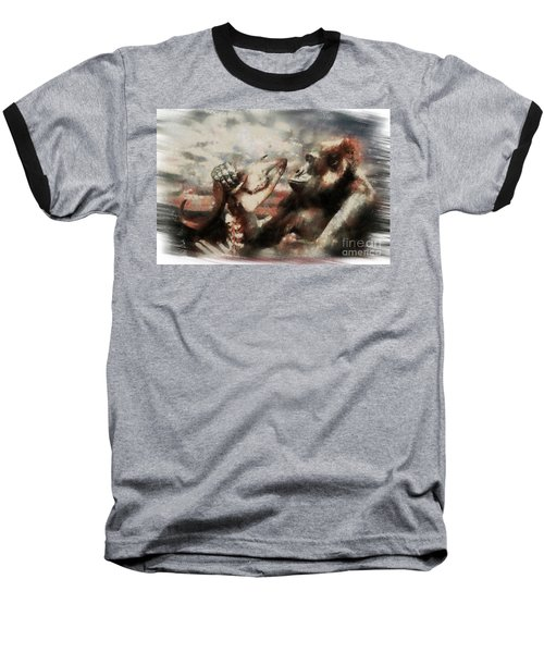Baseball T-Shirt featuring the photograph Gorilla  by Christine Sponchia
