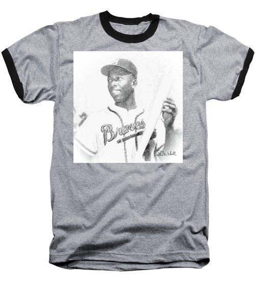 Hank Aaron Baseball T-Shirt