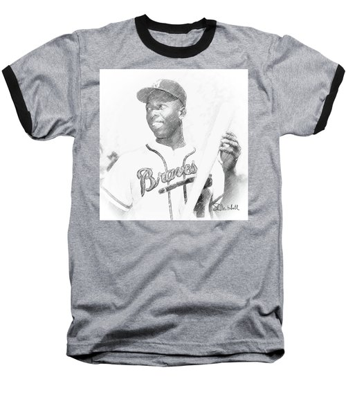 Hank Aaron Baseball T-Shirt