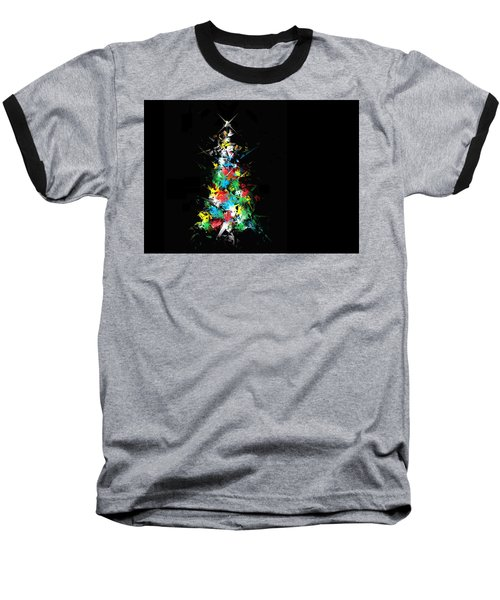 Baseball T-Shirt featuring the digital art Happy Holidays by Ludwig Keck