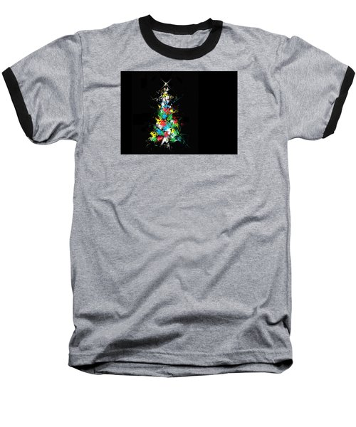 Happy Holidays Baseball T-Shirt