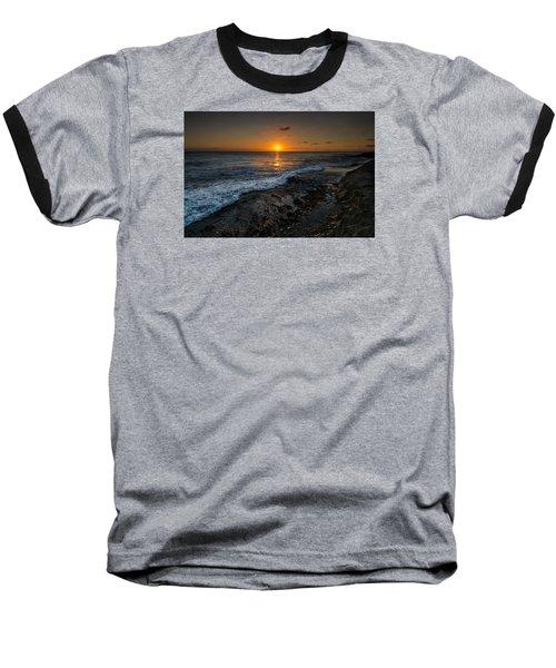 Honolulu Sunset Baseball T-Shirt