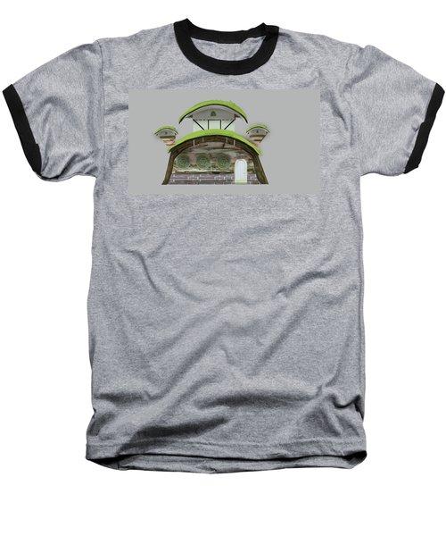 House Baseball T-Shirt by Bogdan Floridana Oana