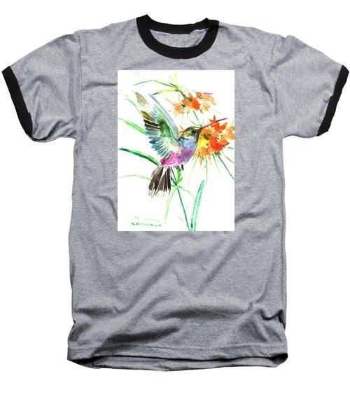 Hummingbird Baseball T-Shirt