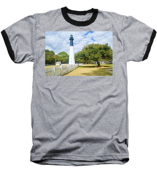 Hunting Island Lighthouse Baseball T-Shirt