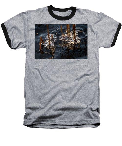 Ice Art Baseball T-Shirt