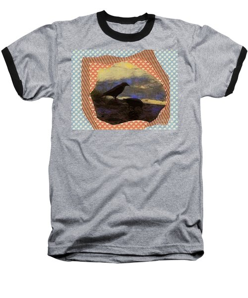 Baseball T-Shirt featuring the photograph In The Shadows by Kathie Chicoine