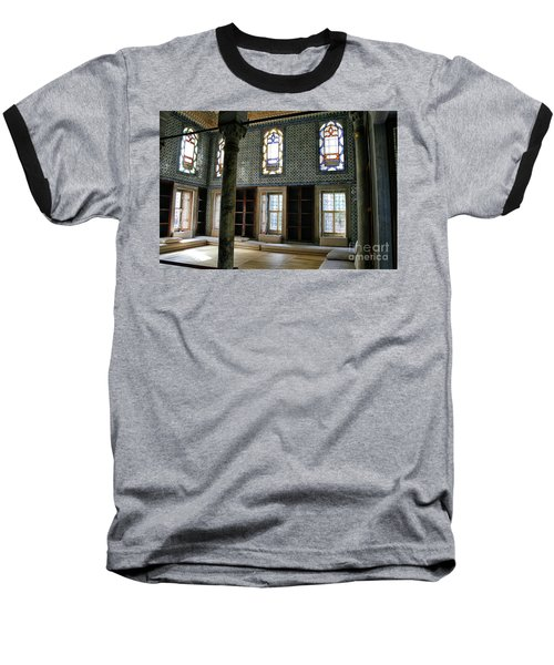 Baseball T-Shirt featuring the photograph Inside The Harem Of The Topkapi Palace by Patricia Hofmeester