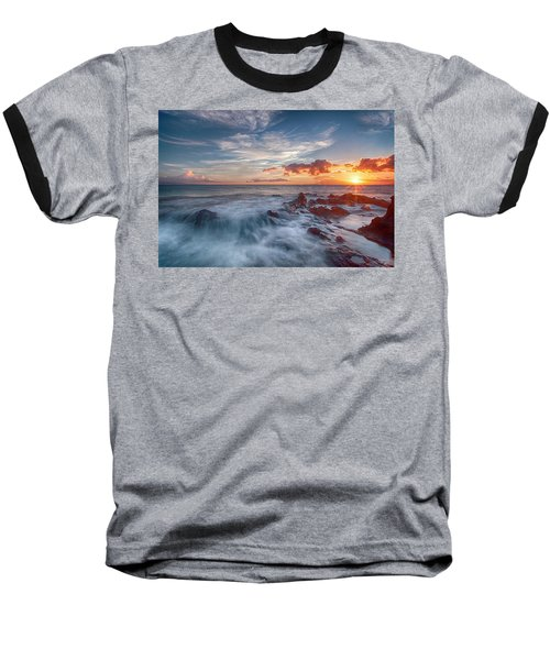 Into The Mystic Baseball T-Shirt by James Roemmling
