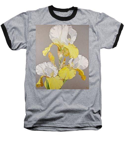 Irises-posthumously Presented Paintings Of Sachi Spohn  Baseball T-Shirt
