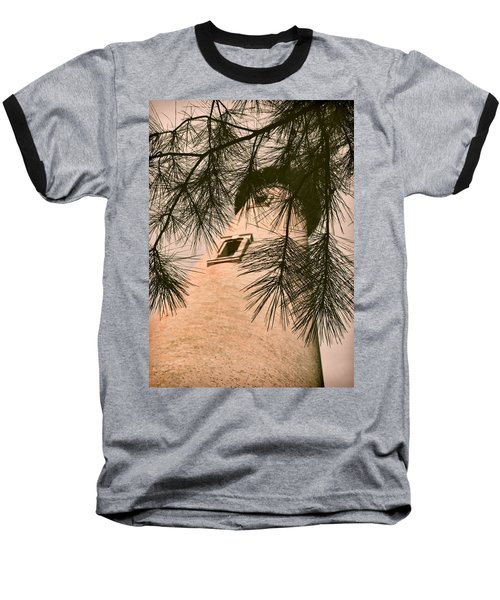 Island Lighthouse Baseball T-Shirt by JAMART Photography