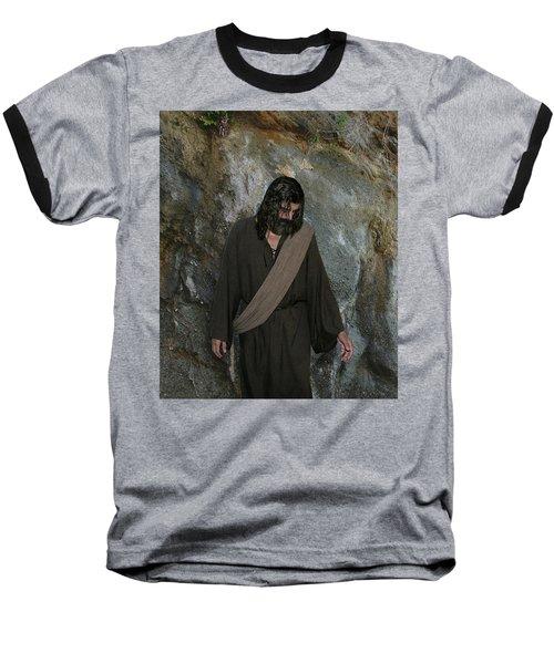 Jesus Christ- Rise And Walk With Me  Baseball T-Shirt