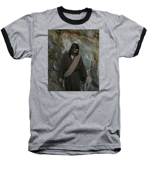 Jesus Christ- Rise And Walk With Me  Baseball T-Shirt