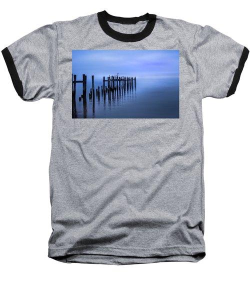 Colorful Overcast At Twilight Baseball T-Shirt