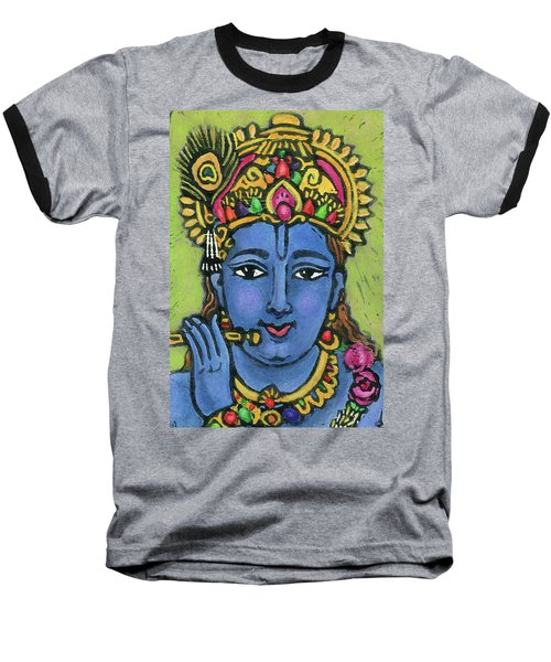 Krishna Baseball T-Shirt