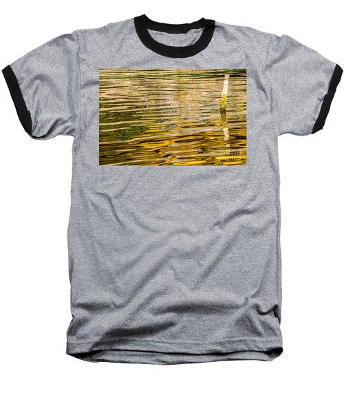 Lake Reflection Baseball T-Shirt