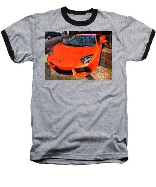 Lamborghini Aventador Baseball T-Shirt