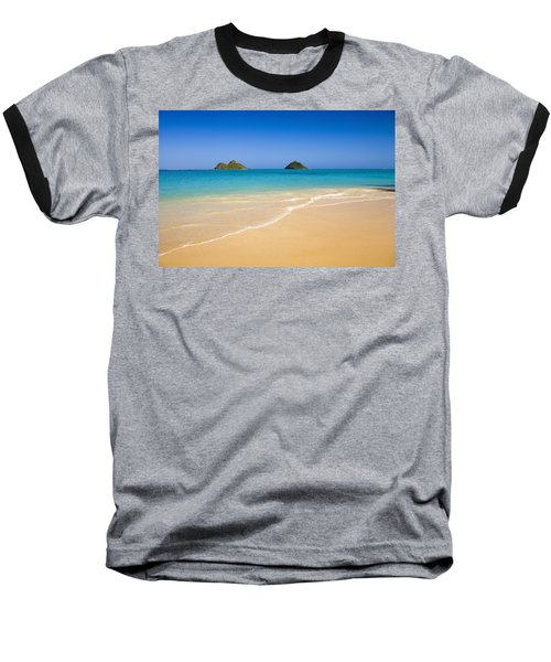 Lanikai, Mokulua Islands Baseball T-Shirt