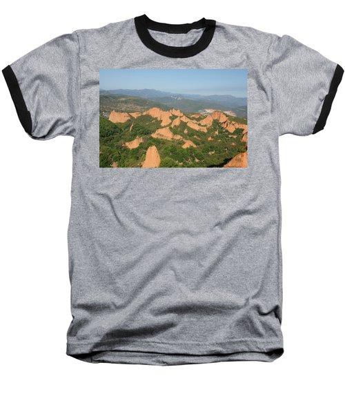 Las Medulas Baseball T-Shirt