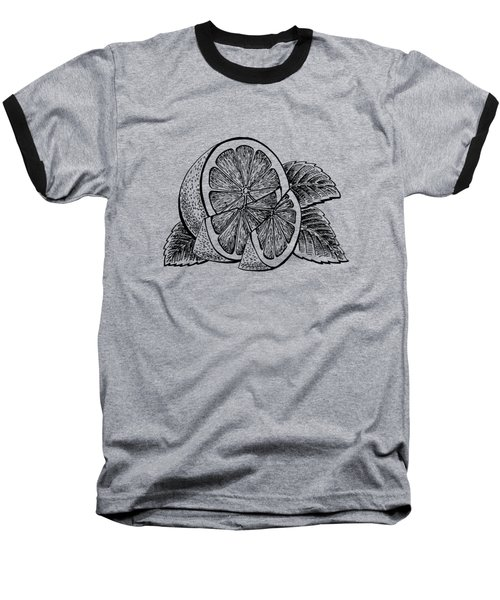 Lemon Baseball T-Shirt by Irina Sztukowski