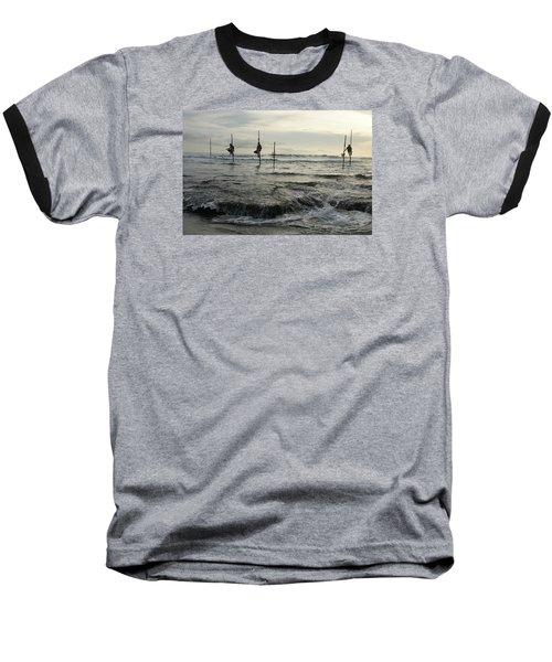 Baseball T-Shirt featuring the photograph Long Beach Kogalla by Christian Zesewitz
