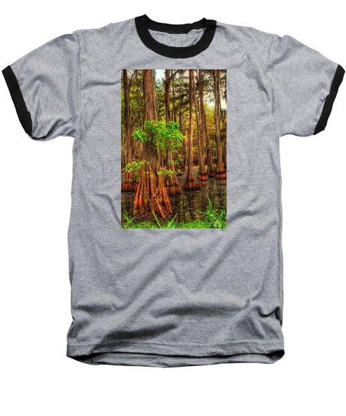 Louisiana Bayou Baseball T-Shirt by Ester  Rogers