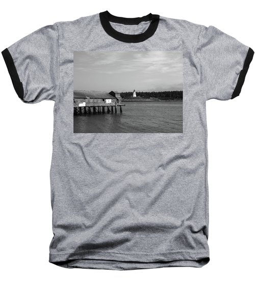 Baseball T-Shirt featuring the photograph Lubec, Maine by Trace Kittrell