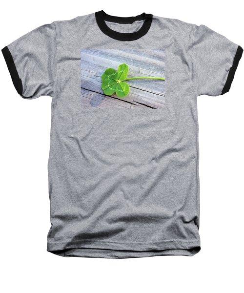 Lucky Baseball T-Shirt by Kristin Elmquist