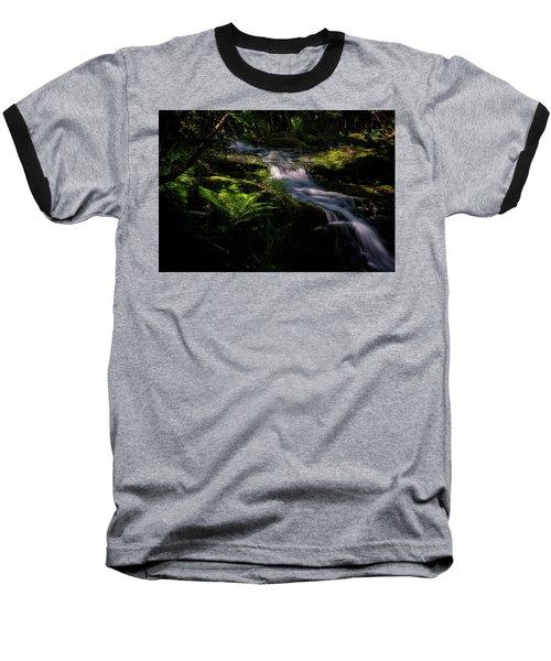 Lynn Mill Waterfalls Baseball T-Shirt