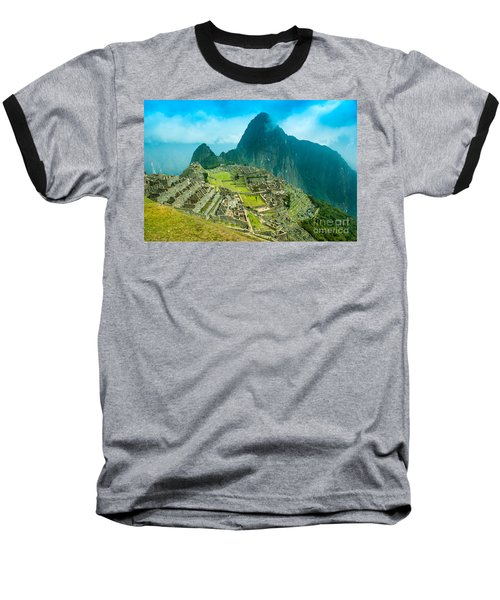 Machu Picchu  Baseball T-Shirt by Mariusz Czajkowski