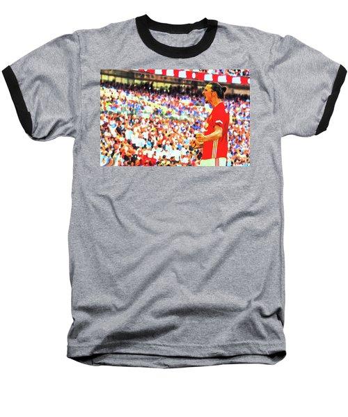 Manchester United's Zlatan Ibrahimovic Celebrates Baseball T-Shirt by Don Kuing