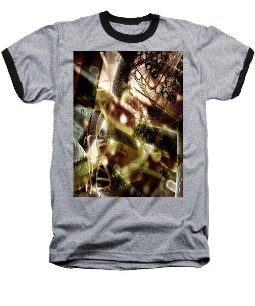 Baseball T-Shirt featuring the digital art Medils Art by Danica Radman