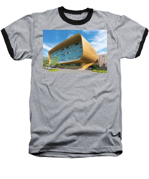 Baseball T-Shirt featuring the photograph Modern Building by Hans Engbers