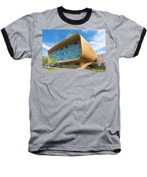 Modern Building Baseball T-Shirt by Hans Engbers
