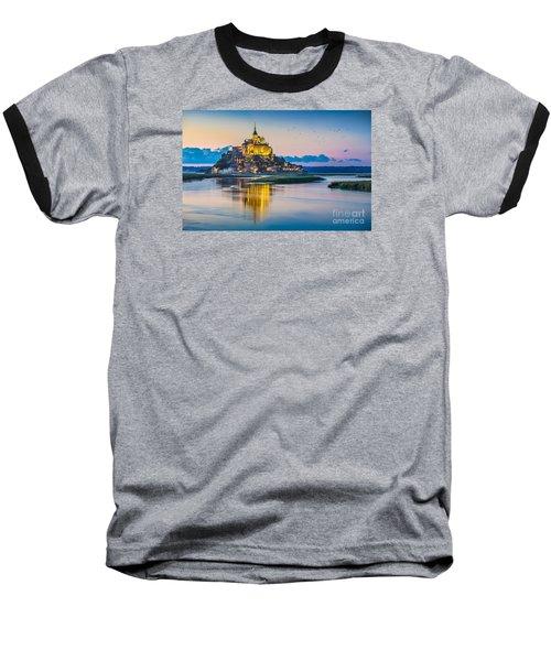 Mont Saint Michel Baseball T-Shirt