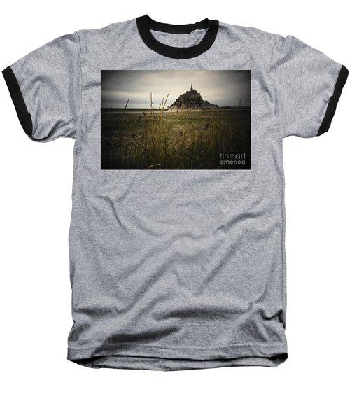 Mont St Michel Baseball T-Shirt