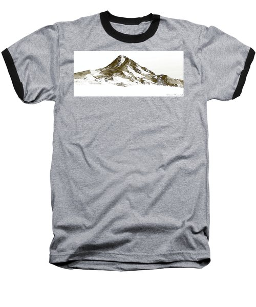 Mt. Hood Baseball T-Shirt by Steve Warnstaff