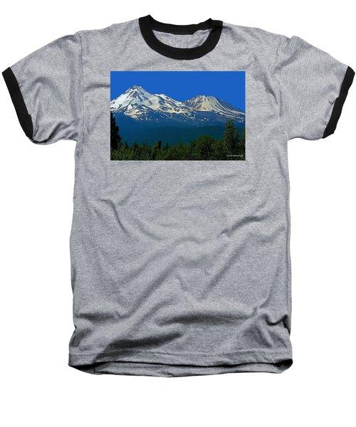 Mt. Shasta Baseball T-Shirt