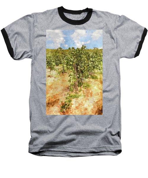Napa Vineyard In The Spring Baseball T-Shirt