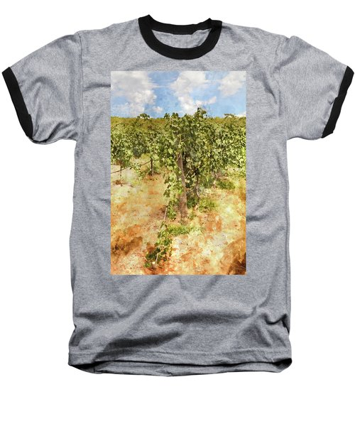 Napa Vineyard In The Spring Baseball T-Shirt