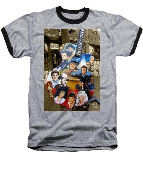 Nashville Honky Tonk Baseball T-Shirt
