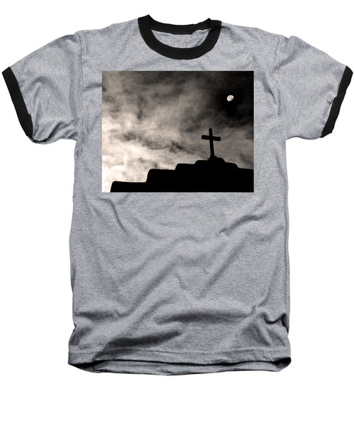 New Mexico Moon Baseball T-Shirt