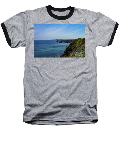 North Coast Cornwall Baseball T-Shirt by Brian Roscorla